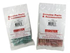 10833 - Solderseal Spade - 10-12 AWG - # 10 Stud - 50 Pack