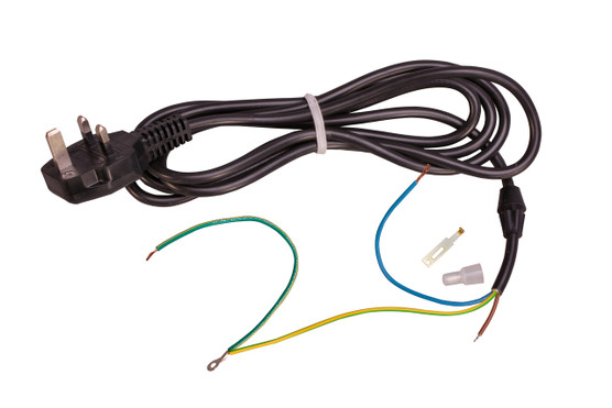 Cordset, 220V, British w/Ground Tab