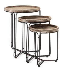 Hampton Nesting Tables - set of three