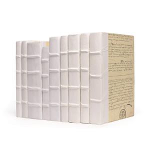 Book Set in White