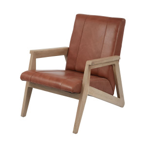 Loft Leather Lounge Chair
