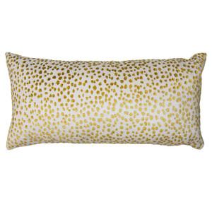 Golden Spots Pillow