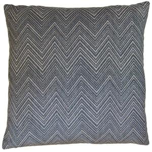 Chevron in Grey Pillow