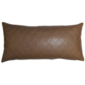 Camel Diamonds Pillow