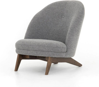 Gena Chair in Slate Fabric