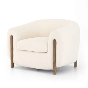 Lilian Chair in Ivory