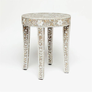 Yaz Inlay Accent Table