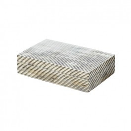 Striped Bone Box size small