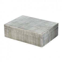 Striped Bone Box size large