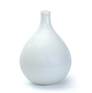 Demijohn Bottle in White