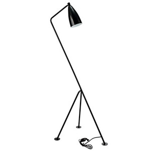 Jake Modern Floor Lamp in Black