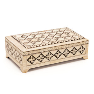Moroccan Bone Print Box