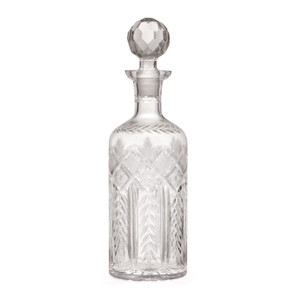 Charles Cut-Glass Decanter