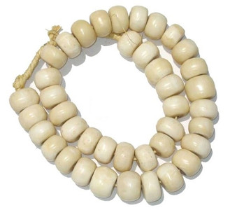 White African Bone Decorative Beads