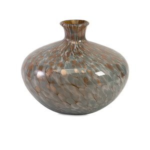 Molten Art Glass Vase