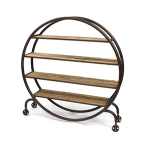 Industrial Orbit Bookshelf