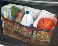 3 Large compartments shown filled with items that no longer have to roll around in the vehicle!