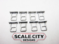 48-006 STEPS PASSENGER CAR STIRRUPS O SCALE (FORMERLY KEIL-LINE)
