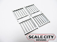 48-104 PASSENGER CAR VESTIBULE GATE VERTICAL BARS O SCALE FKA KEIL LINE