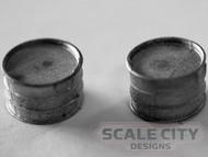 48-729 Galvanized Wash Tub O Scale FKA Keil Line Scenery Detail Casting