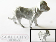 48-636 Large Dog Figure O Scale FKA Keil Line