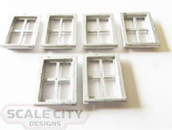 48-412 Caboose Windows O Scale FKA Keil Line