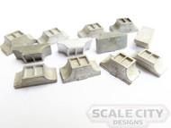 48-241 Roof Vent Garland Clerestory Heavyweight FKA Keil Line O Scale