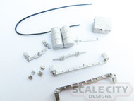 48-137 Rail Flange Lubricator Dummy Kit O Scale Track Detail