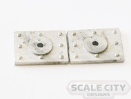 48-340 Heavyweight Bolster Plate Passenger Car O scale