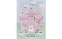 Princess Castle Birthday Card