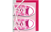 Pink Shoes Card