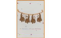 Go Bananas Monkeys Card