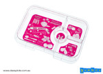 Botanical Hot Pink - 4 Compartment Tray Only
