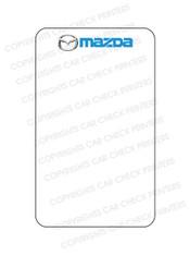 10044553-C5 MAZDA OIL CHANGE STICKERS