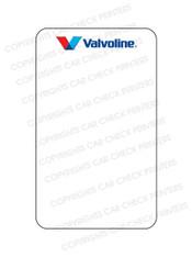 10044553-C7 VALVOLINE OIL CHANGE STICKERS
