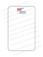 10044553-F1 AAA OIL CHANGE STICKERS