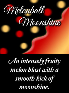 An intensely fruity melon flavor with a smooth kick of moonshine.