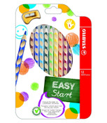 Stabilo EASYcolors Left Hand Box of 12