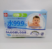 LEC 99.9% Pure Water Wipes Everyday - Bundle Pack