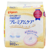 Pigeon Japan Breast Pads Premium Care (102 pcs)