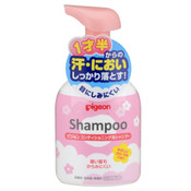 Pigeon Japan Toddler Foam Shampoo - Floral (350ml)