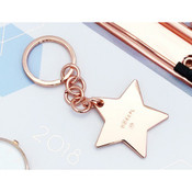 Ju-Ju-Be OOAKPL Star Keychain - Rose Gold