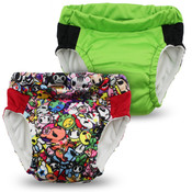 Kanga Care Lil  Learnerz Training Pants & Swim Diaper - tokiJoy & Tadpole 2 pack