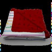 Tetris by Kanga Care Block Party - Serene Reversible Blanket