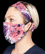 KOI Headband and Mask Set - Rose Frost