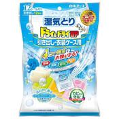 HAKUGEN Dehumidification, Deodorization, Prevent Mold, Anti-Yellowing Dehumidifier (Drawer) 12pcs White Soap