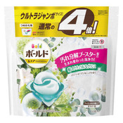 P&G Japan Bold Gel Ball 3D Green Garden & Mugen Scent 60 Pieces (Ultra Jumbo Refill Pack)