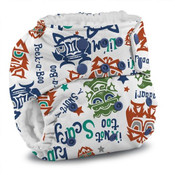 Kanga Care Rumparooz One Size Cloth Diaper - LIL MONSTER REBOOT