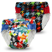 Kanga Care Lil Learnerz Training Pants & Swim Diaper -DRAGONS FLY & INVADER  2 pack
