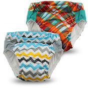 Kanga Care  Lil Learnerz Training Pants & Swim Diaper - CHARLIE & QUINN 2 pack